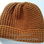 หมวกไหมพรมแบบถัก