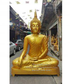พระพุทธรูป ทองเหลืองพ่นทอง 80 นิ้ว