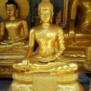 พระพุทธรูป ทองเหลือง พ่นทอง (ปางมารวิชัย) หน้าตัก 35 นิ้ว