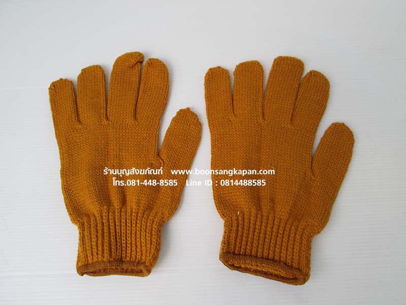 ถุงมือพระไหมพรม