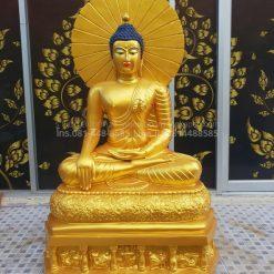 พระพุทธเมตตาหน้าตัก30นิ้วทองเหลือง