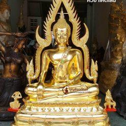 พระพุทธชินราชปิดทองคำแท้ หน้าตัก30นิ้ว