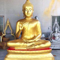 โรงหล่อพระพุทธรูปพิพัฒธนการช่าง,พระพุทธรูป ทองเหลือง พ่นทอง หน้าตัก 60 นิ้ว